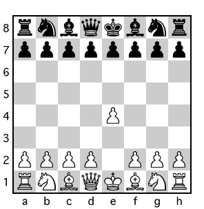 チェス盤面図