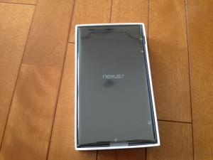 Nexus7 開封