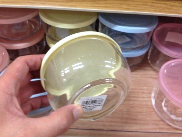 100円ショップ_ガラス容器2